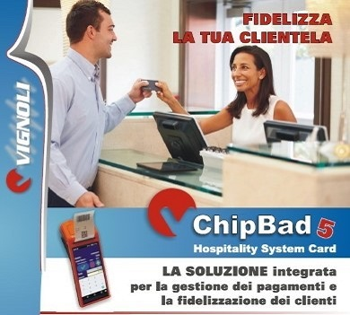 ChipBad 4 | Soluzioni software | Fidelity card ed hospitality