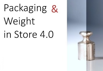 Packaging & Weight in Store 4.0